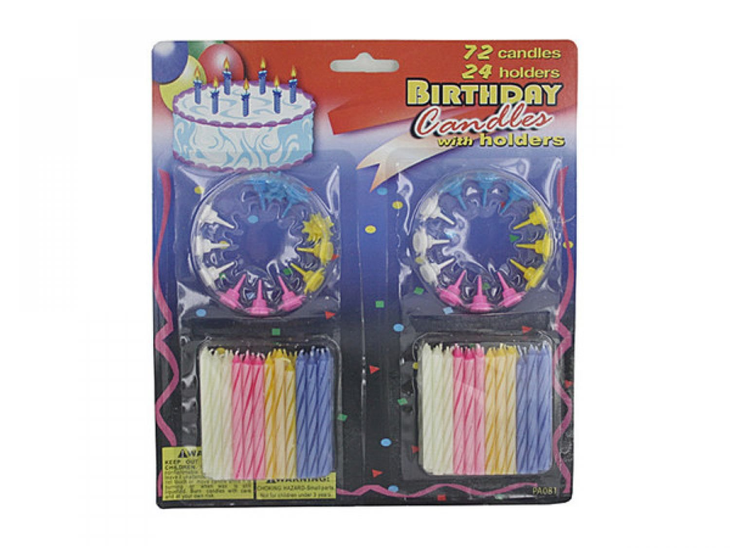 Amazon Bulk Buys Birthday Candles With Holders Set