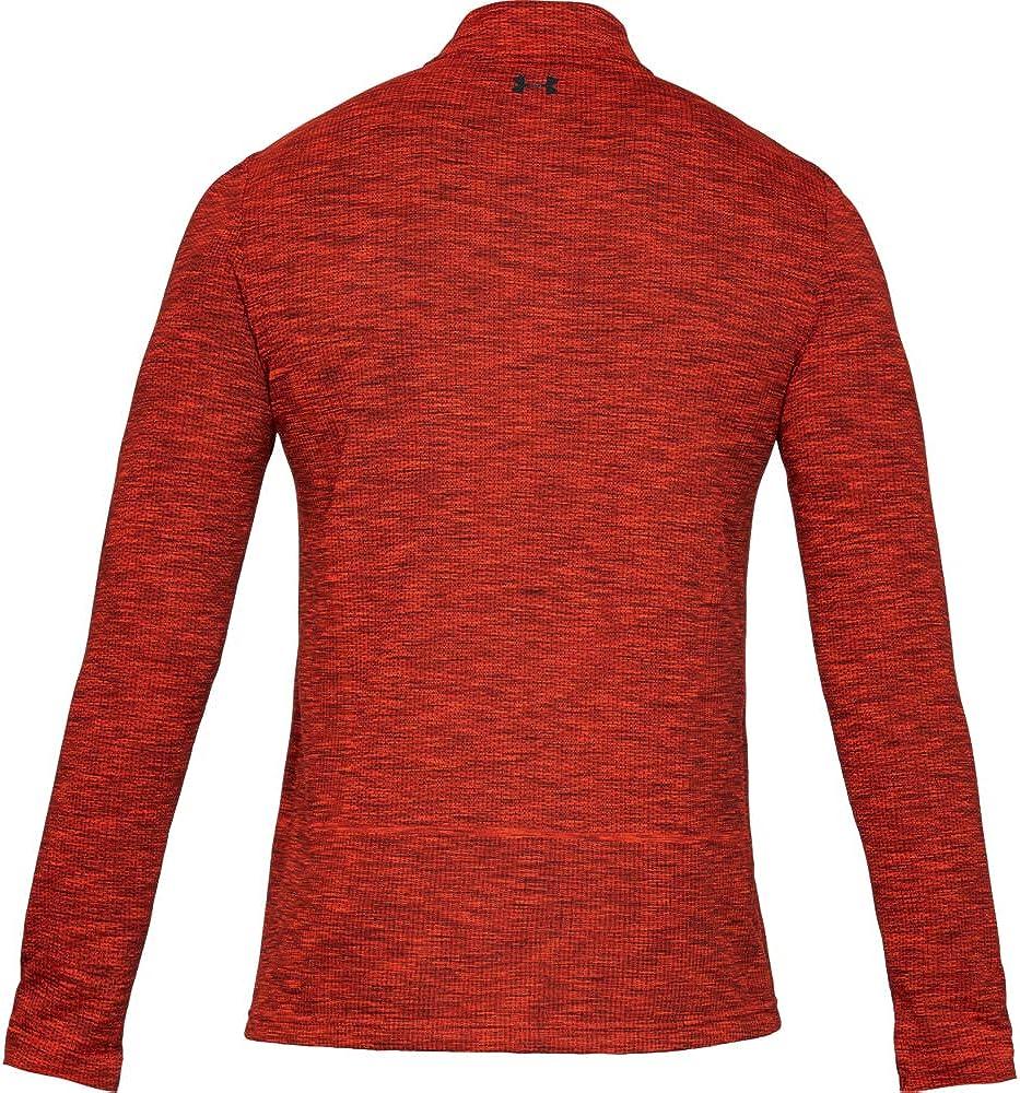 Under Armour Mens Vanish Seamless 1//2 Zip Long Sleeve Warm-up Top
