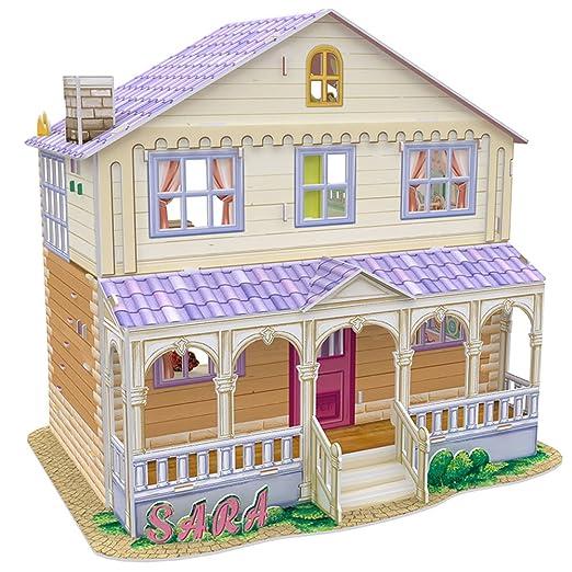 Great price amazon cubicfun p678h dream dollhouse for Dream house 3d