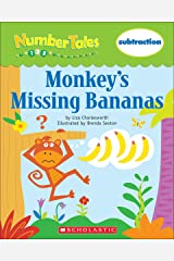 Number Tales: Monkey's Missing Bananas Kindle Edition