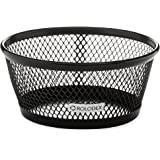 Rolodex Mesh Collection Jumbo Paper Clip Holder, Black 2-Pack