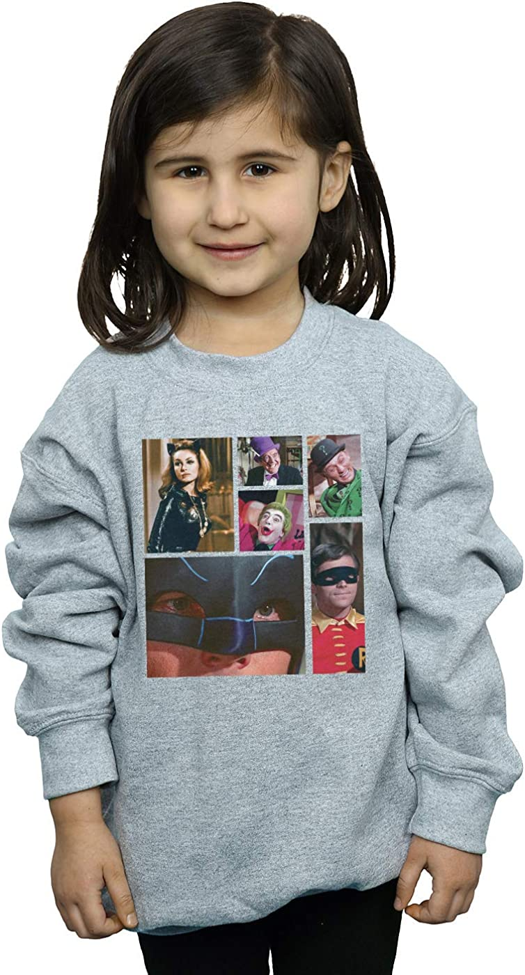 DC Comics Girls Batman TV Series 1966 Class Photo Sweatshirt