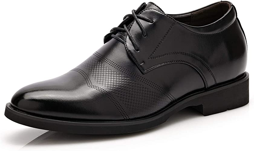 LL Mens PU Leather Brogue Shoes Classic Lace Up Tassel Decoration Breathable Formal Business Lined Oxfords Breathable