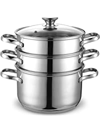 Amazon.com: Steamers - Steamers, Stock & Pasta Pots: Home ...