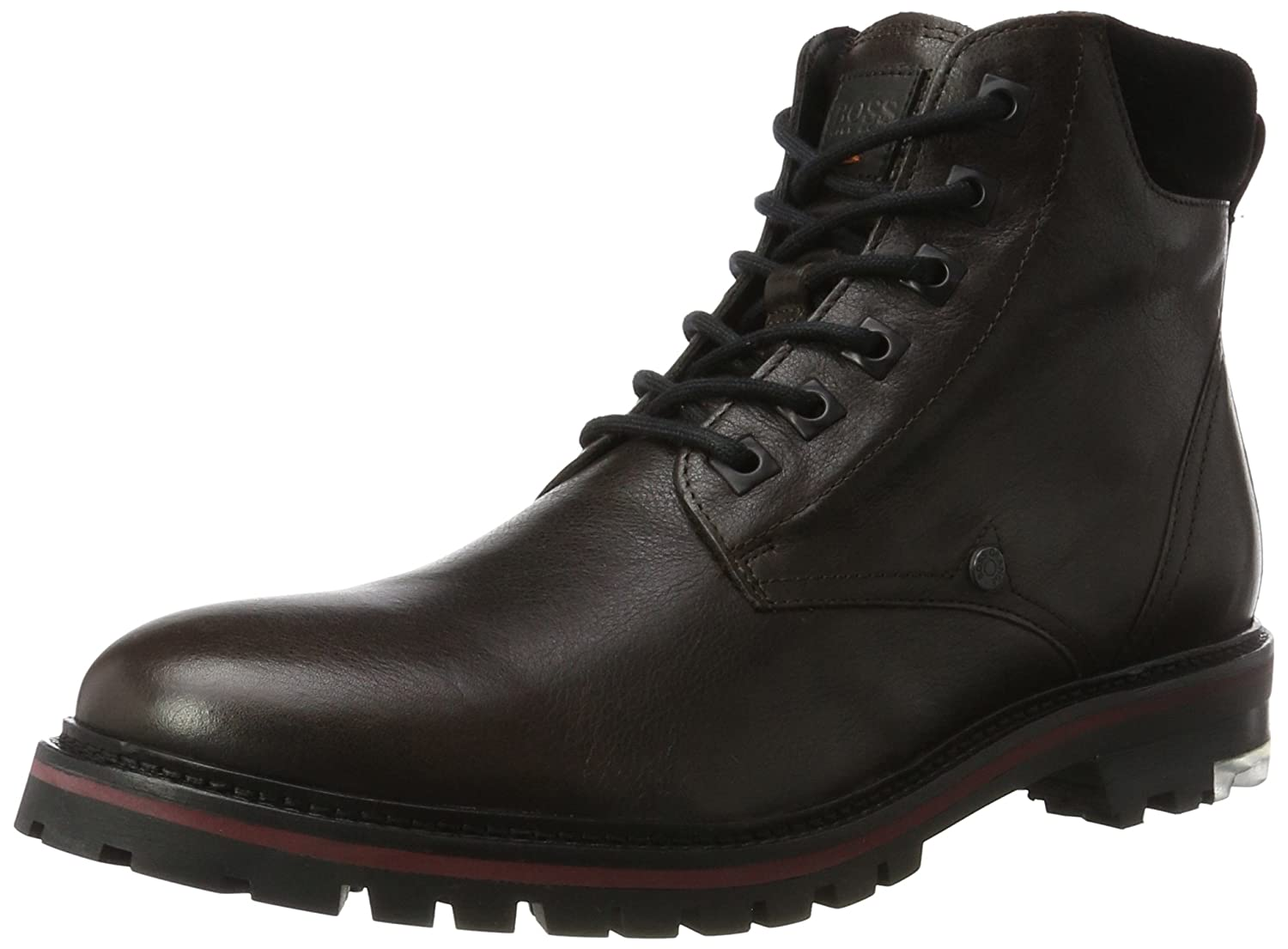 BOSS Herren Hero_halb_ltwsfur 10201445 01 Brown) Combat Boots, Braun (Dark Brown) 01 e0c169