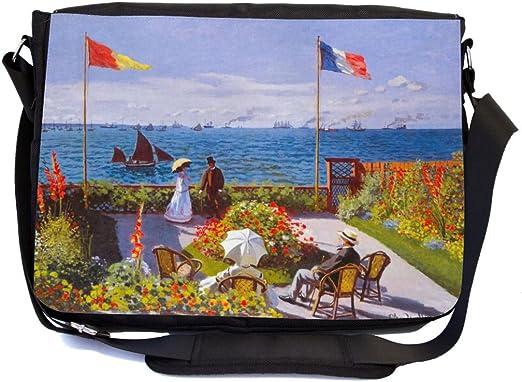 Amazon Com Rikki Knight Claude Monet Art Garden At Sainte Adresse