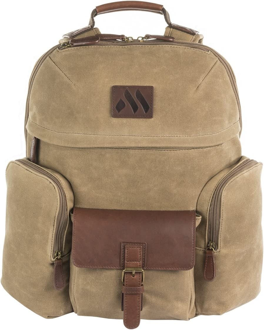 MACHIR Signature Casual Travel Backpack For Work Business Travel Hiking and Vacation Bookbag