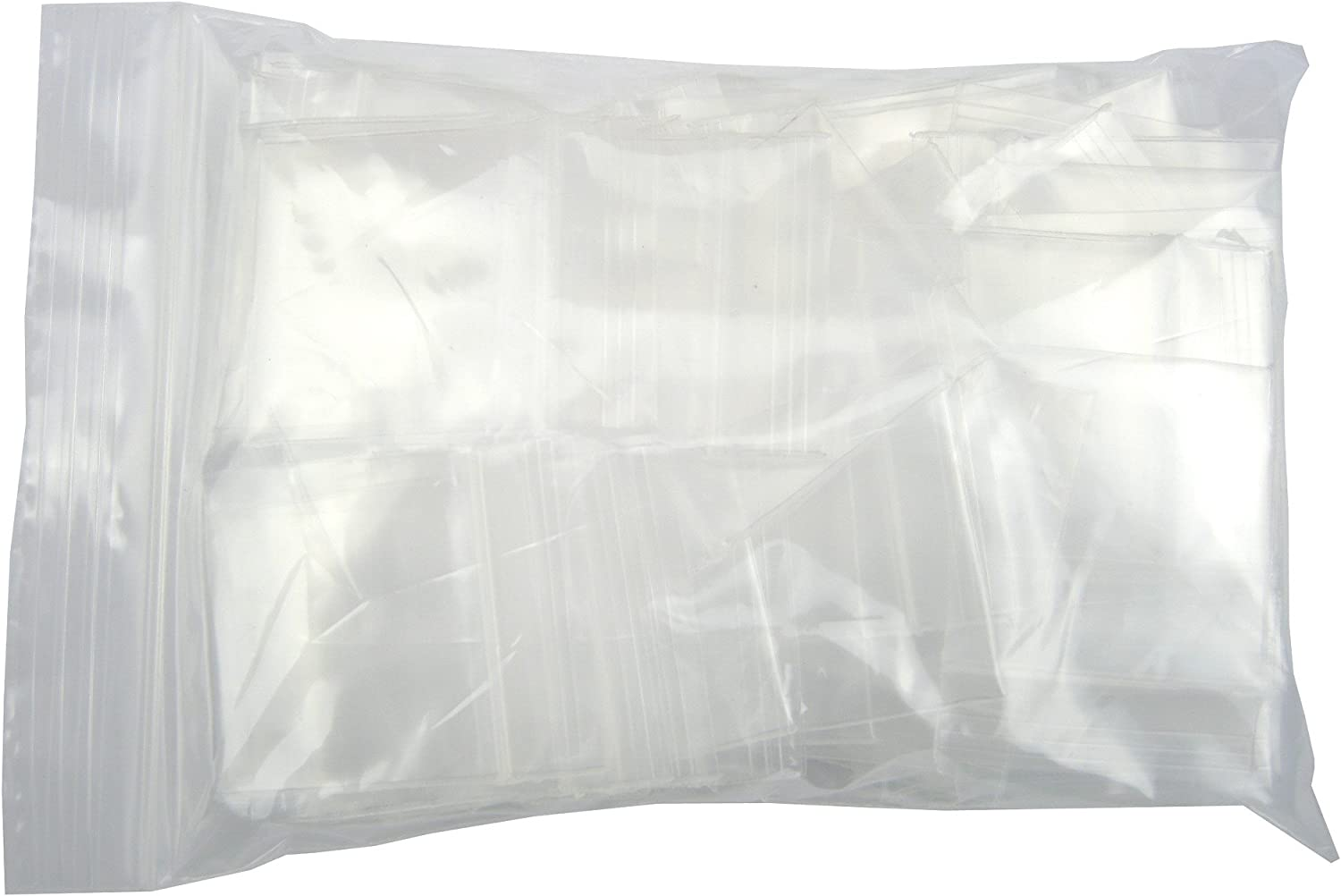 """1500 THICK Storage Reclosable Zipper Bags 1.5/"""" x 2/""""/_40 x 50mm Plastic Packing"""