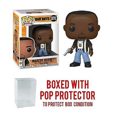 Pop Movies: Bad Boys Marcus Burnett # 870 Pop Vinyl Figure (Includes Ecotek Pop Box Protector Case): Toys & Games