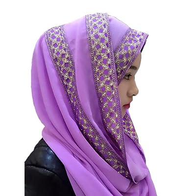 Feicuan Muslim Femme Tête Écharpe Middle Eastern Islamic Hijab