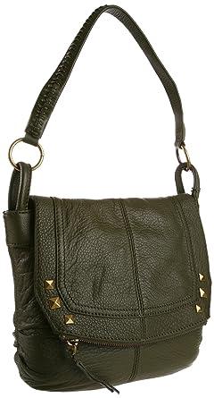 The SAK Silverlake Mini Flap Cross Body, Olive, One Size: Handbags