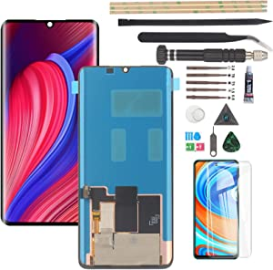 Screen for AMOLED Xiaomi Mi Note 10/Note 10 Lite/Note 10 Pro/CC9 Pro LCD Display with Touch Screen Digitizer Assembly Replacement(Not for Samsung Note 10).