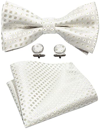 Barry.Wang Bow Ties Men Pre-tied Bow Floral Bowtie Wedding Pre-tied Ties Classic