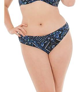 08f279bd14 Curvy Kate Womens Free Spirit Balcony Bikini Top Blue  Amazon.co.uk ...