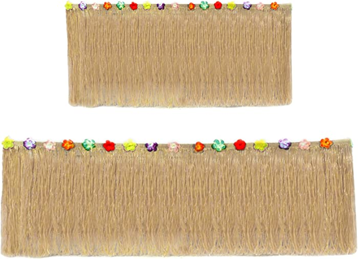 Hawaiian Table Skirt 11ft Long Stretches to 30ft! | (29