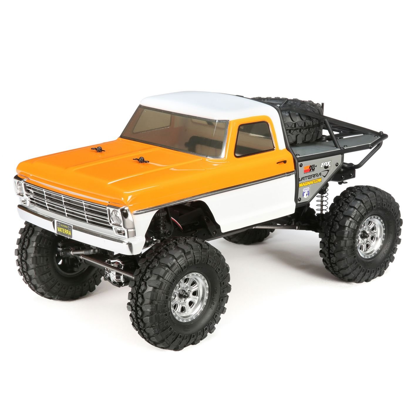 1968 Ford F-100 Ascender Bind and Drive: 1/10 4WD