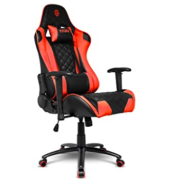 empire gaming black red 700 series racing gaming chair ultra comfortable sport - chaise gaming fortnite