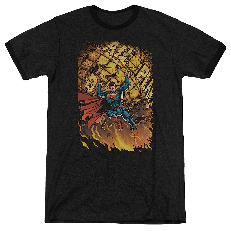 Superman Men's Superman 1 Ringer T-Shirt