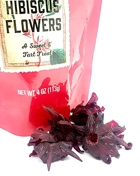 Amazoncom Trader Joes Dried Sweetened Hibiscus Flowers Snack 4 Oz