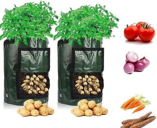 LOBKIN Bolsas de Cultivo de Papa, Bolsas de Cultivo de hortalizas ...