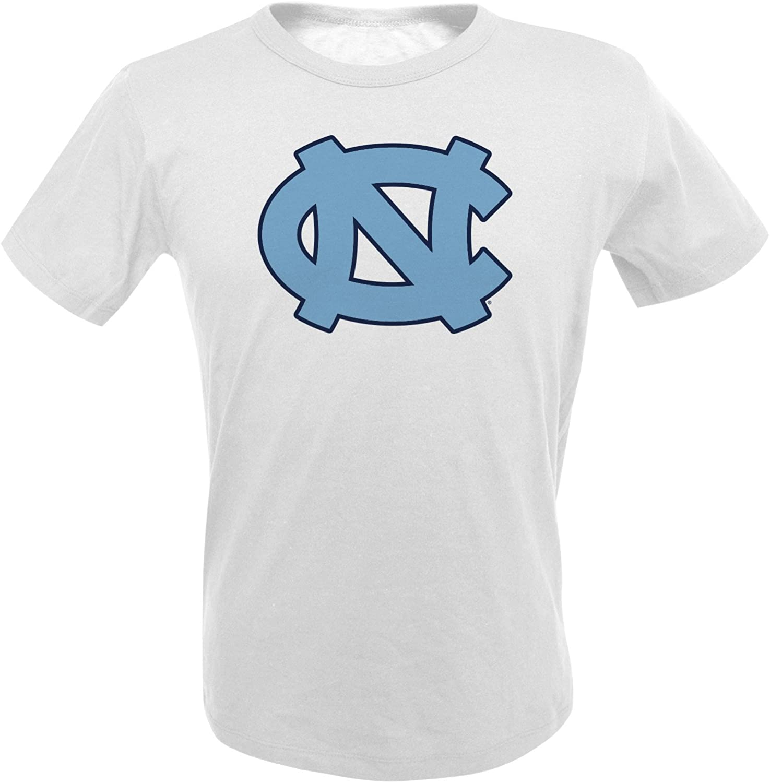Alta Gracia NCAA Georgetown Hoyas Mens Short Sleeve R-Spun G-Dye Tee Small White