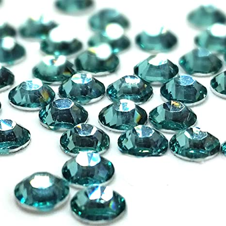 Resin Flatback Rhinestones High Quality 2 3 4 5 6 mm choose size Teal