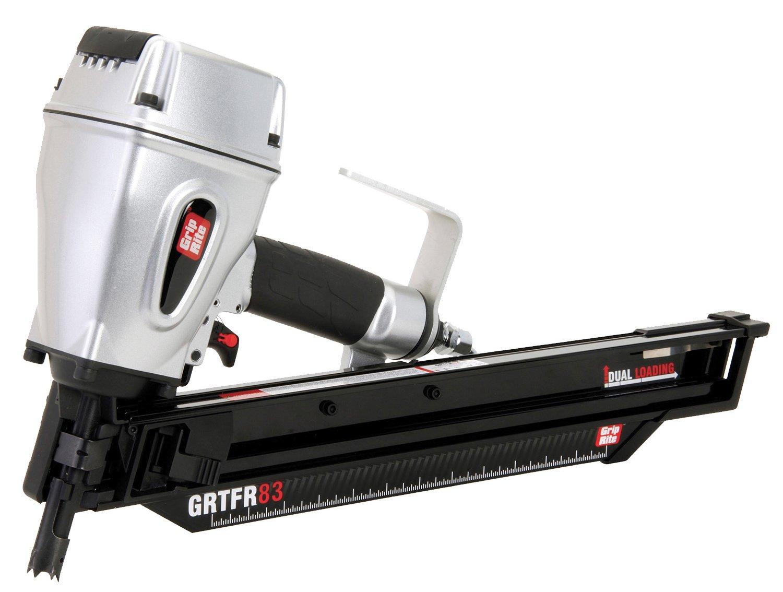 Grip-Rite GRTFR83 RH Short-Body 21 Degree Framing Nailer, 3-1/4-inch ...