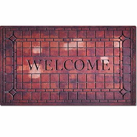 QIANMO Colchones Colchones Carpet Alfombrillas de Goma Alfombrillas Europeo Flocado Puertas Exteriores Alfombras alfombras Alfombras alfombras