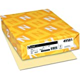 Wausau Exact 110, Index Cardstock, 250 Count, Ivory, 8.5 X 11 Inches (49581)