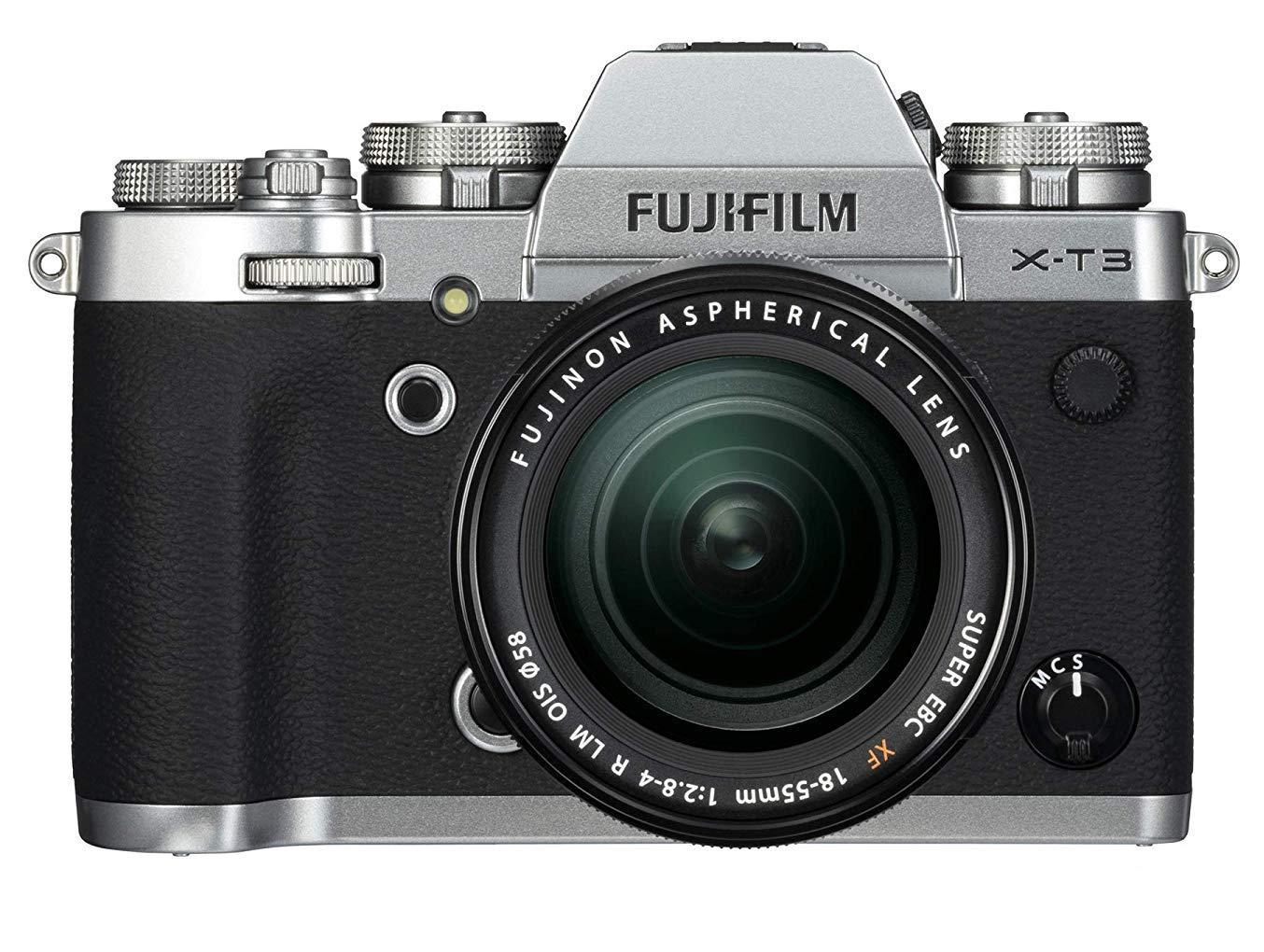 Fujifilm Mirrorless Camera with XF 18-55 mm Lens X-T3 26.1 MP 4K/60P Video