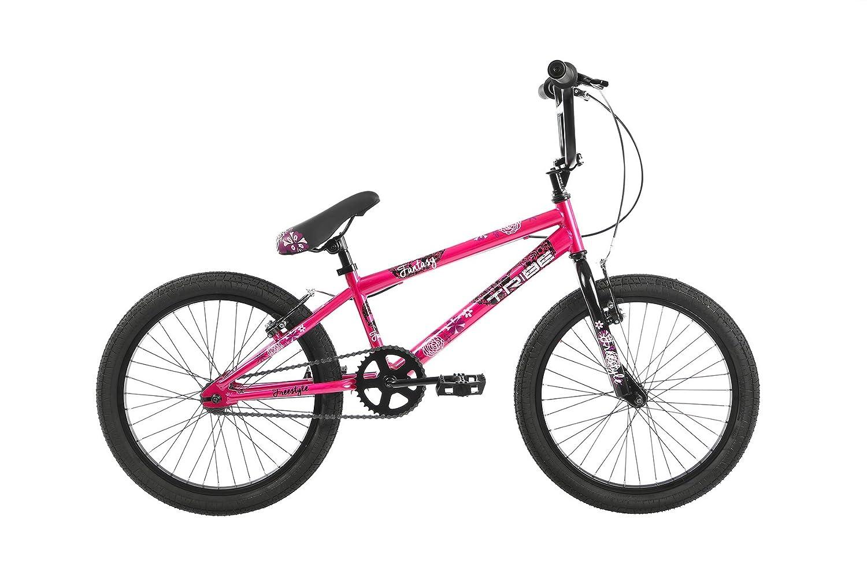 Tribe Fantasy 20 BMX Bike 20 Wheel, 10 Frame, Pink/Purple 10 Frame