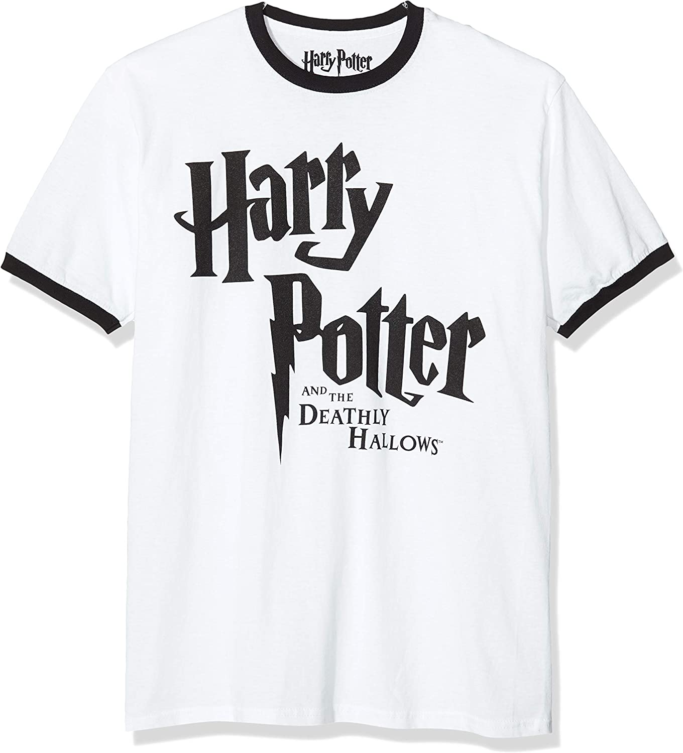 ICONIC COLLECTION - HARRY POTTER Deathly Hallows Camiseta para Hombre: Amazon.es: Ropa y accesorios