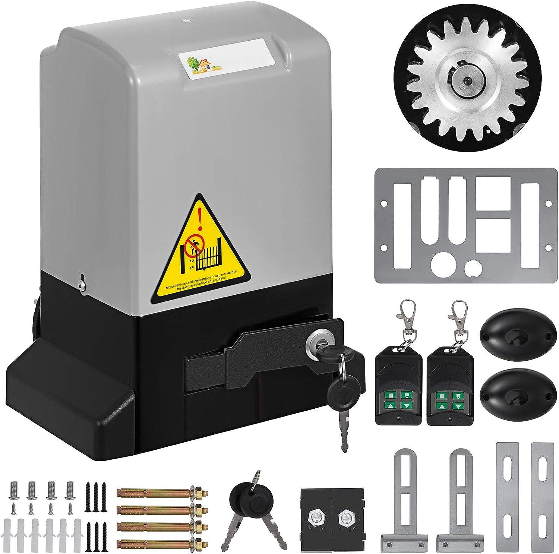 Guellin Abrepuertas Automático con Control Remoto Operador de Puerta de Garaje Automático Abrelatas de Puerta Garage Door Opener: Amazon.es: Bricolaje y herramientas