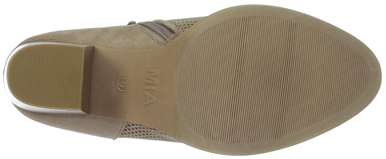 MIA Amore Women's Portia Ankle Boot B074P3F5T3 7.5 M US Stone