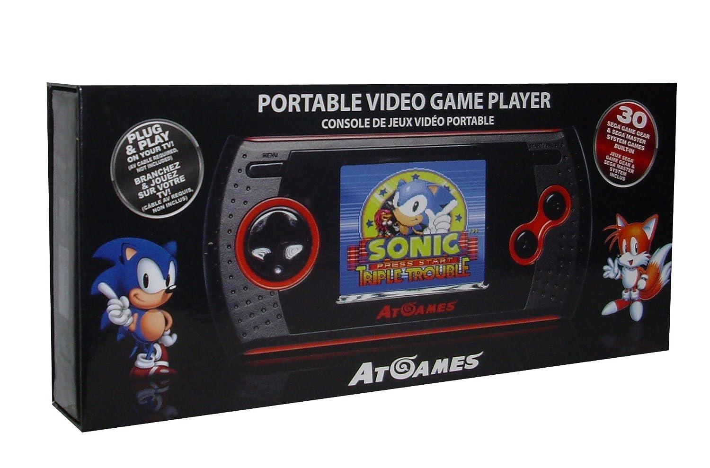 Sega Master System - Consola Retro Árcade Gamer Portátil (Incluye 30 Juegos)