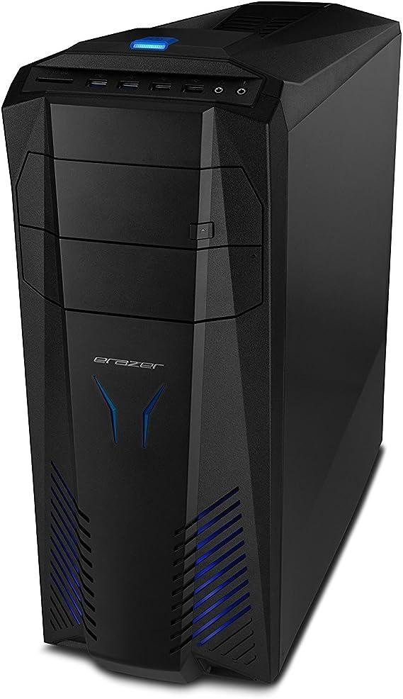 MEDION X57 - Ordenador de sobremesa (Intel Core_i5 2.7 GHz, Disco Duro de 1 TB, 32 GB de RAM) Negro
