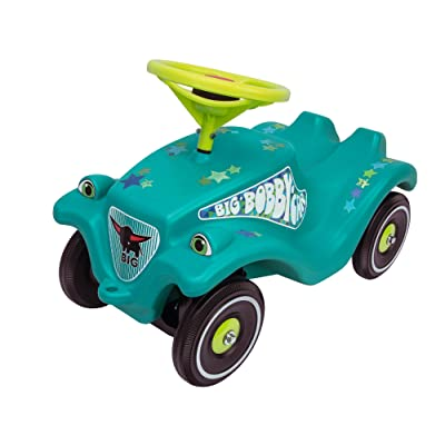Big Bobby Car Classic Toy Factory 800056108 Little Star Kid's Ride On Turquoise: Toys & Games
