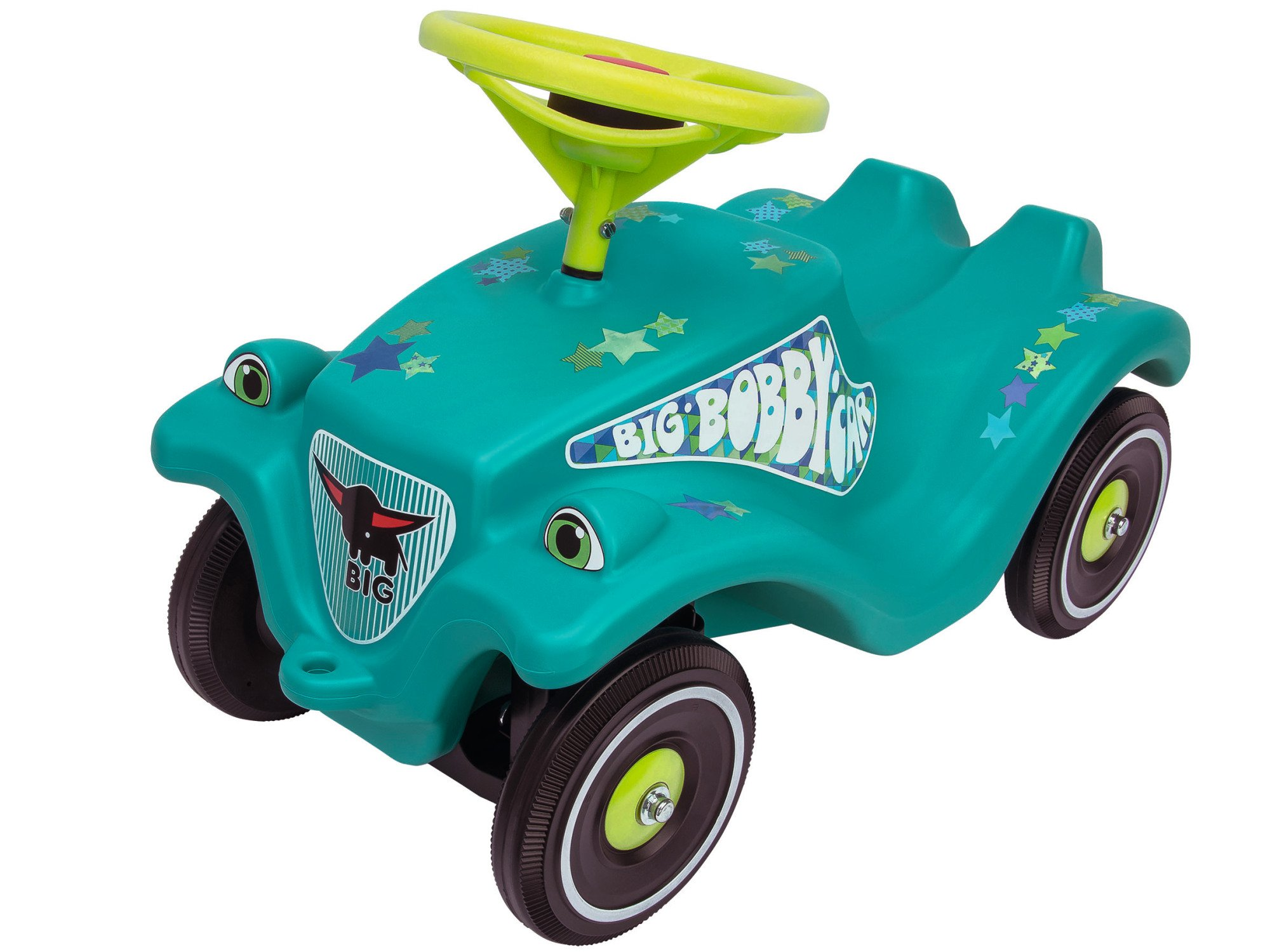 Big Bobby Car Classic Toy Factory 800056108Little Star Kid's Ride On Turquoise