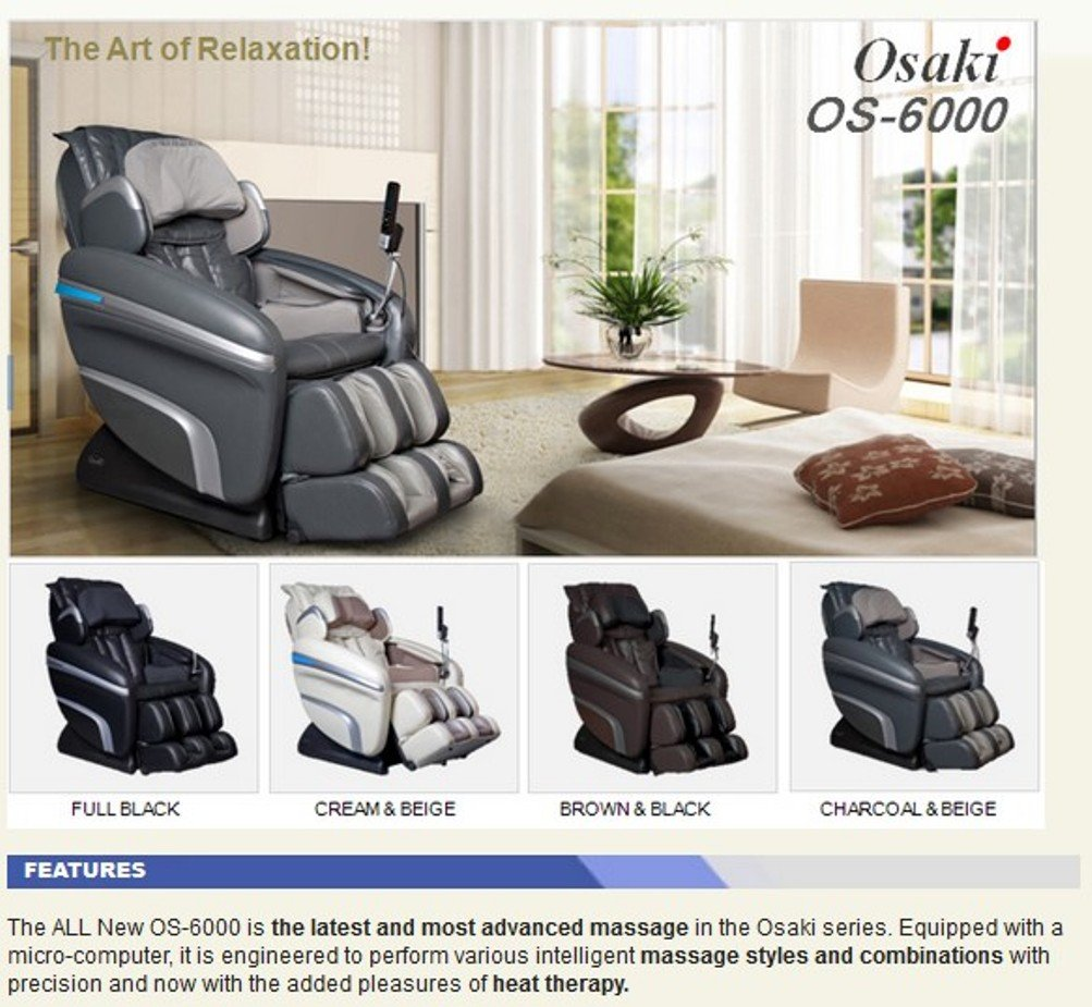 massage front tw pro chair osaki