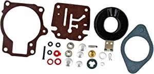 I-Joy 396701 Carburetor Repair Kit for Johnson Evinrude 396701 18 20 25 28 30 35 40 45 48 50 55 60 65 70 75 HP Carb Replacement Outboard Motors with Floats 100% New