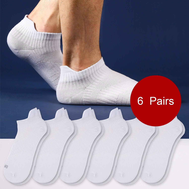 Calcetines Deportivos Running Invisibles Bajos Hombre Mujer de Algod/ón Weekend Peninsula 6 Pares Calcetines Cortos Tobilleros Hombre Mujer