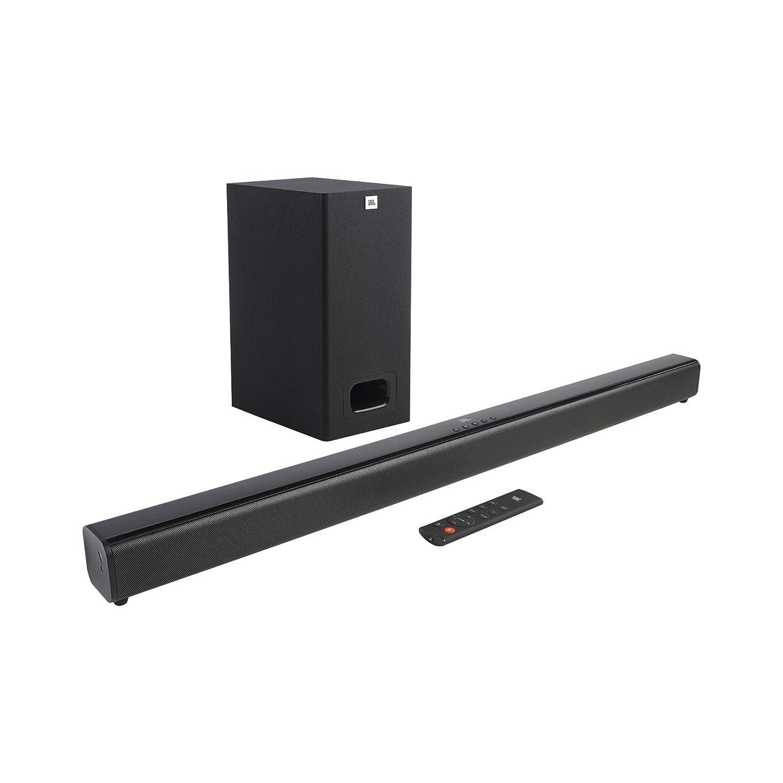 JBL Cinema SB 231 2.1 Channel Soundbar with Wired Subwoofer (110Watts, Dolby Digital, Extra Deep Bass)- Black