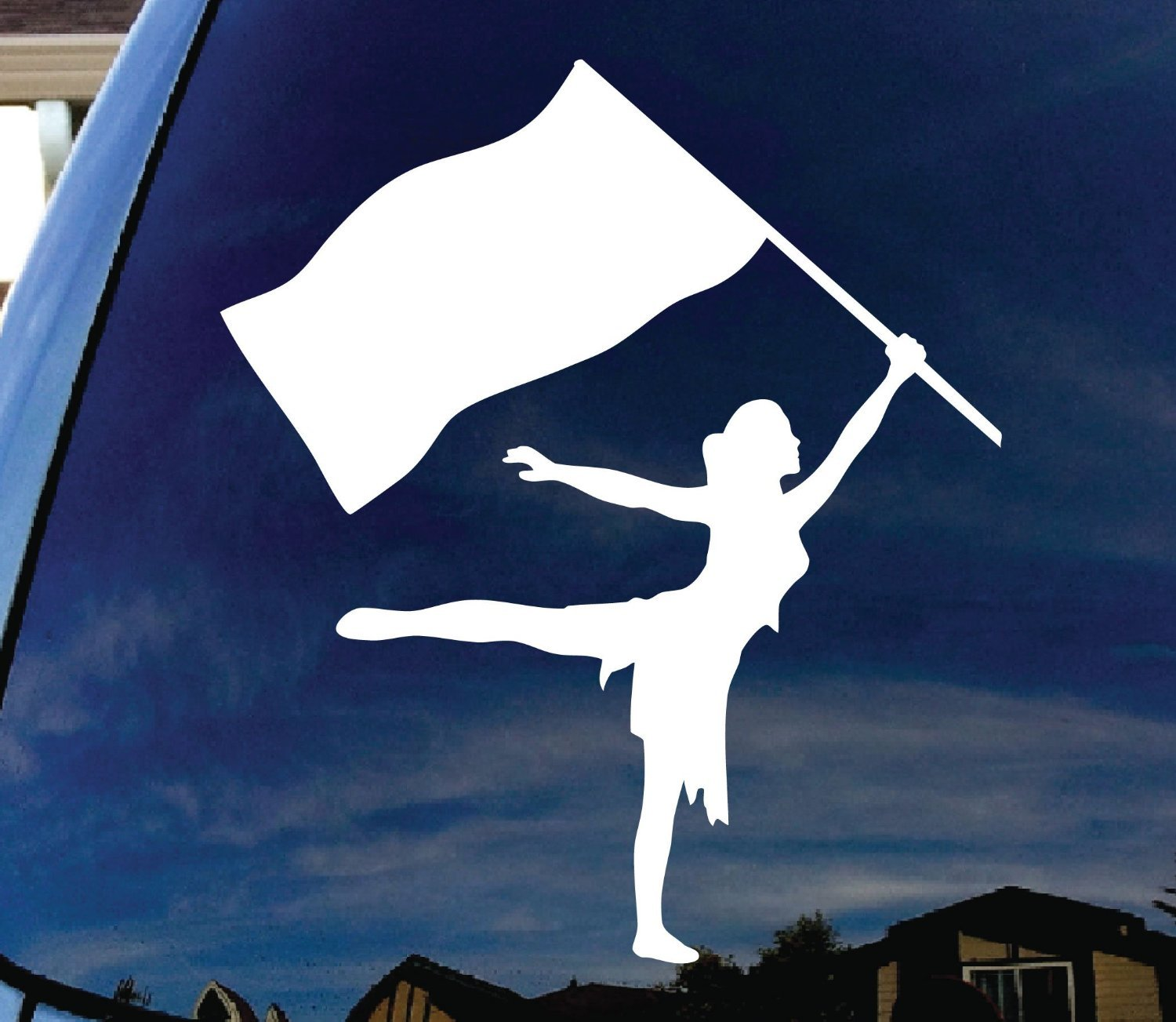 CMI301 Color Guard Car Window Vinyl Decal Sticker 5 Wide