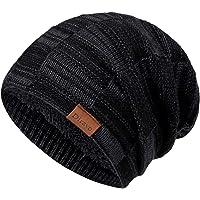 Beanie Hat Men Women Winter Warm Ski Skull Cap Chunky Slouchy Cable Knit Beanie