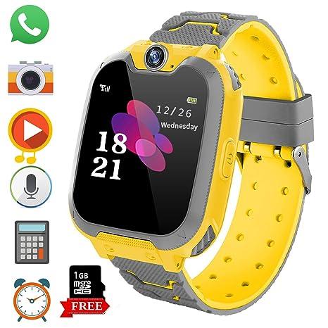Reloj Inteligente para Juegos Infantiles con MP3 Player: Amazon.es: Electrónica