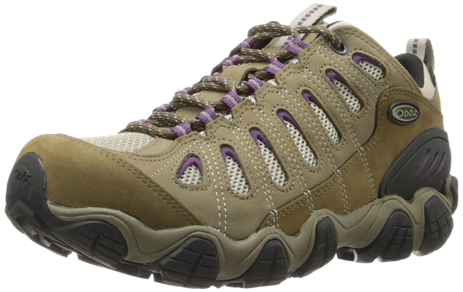 Oboz Women's Sawtooth Low BDry Hiking Shoe B01N7Y84HB 8|Violet
