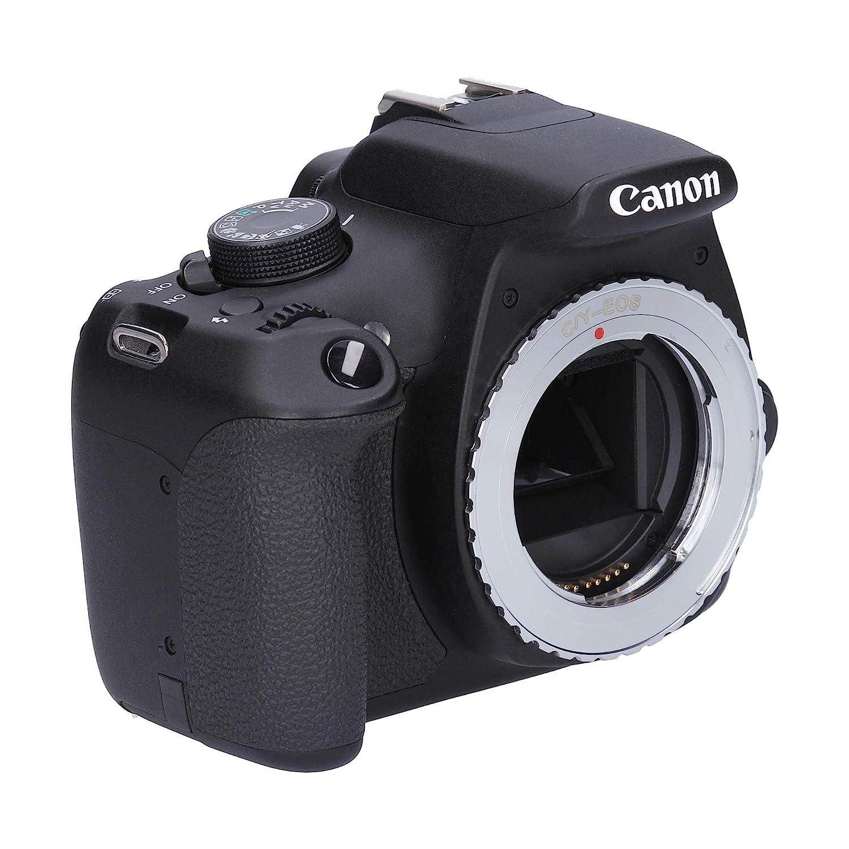 Berlin Optix Adaptador de cámara contax compatible con canon eos ...