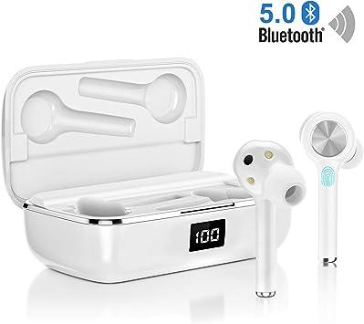 Auriculares Bluetooth, Orit Auriculares inalámbricos Bluetooth 5.0 ...