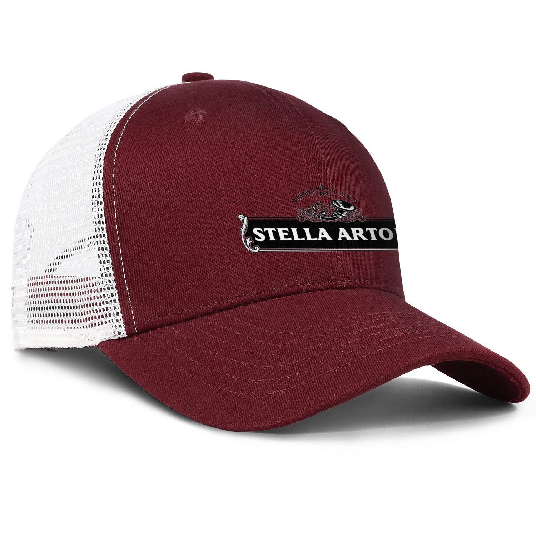 chenhou Unisex Stella Artois-1366 Hat Adjustable Fitted Dad Baseball Cap Trucker Hat Cowboy Hat