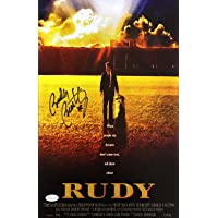 $71 » Rudy Ruettiger Signed 11x17 Notre Dame Rudy Movie Poster Photo JSA ITP